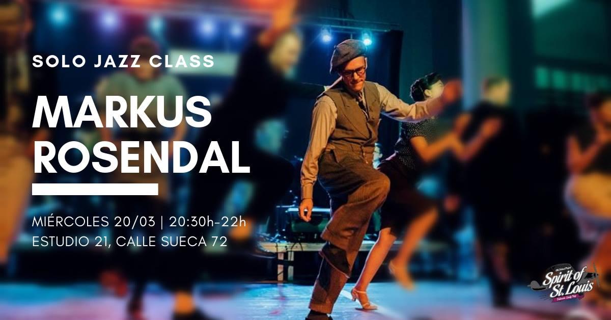 Solo Jazz con Markus Rosendal